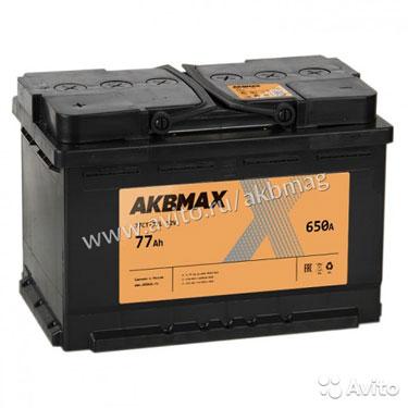 Аккумулятор Akbmax 77L прям. пол. 77 А/ч