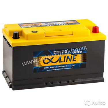 Аккумулятор Alphaline Ultra 105R обр. пол. 105 А/ч