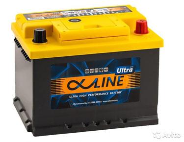 Аккумулятор Alphaline Ultra 62 Ач
