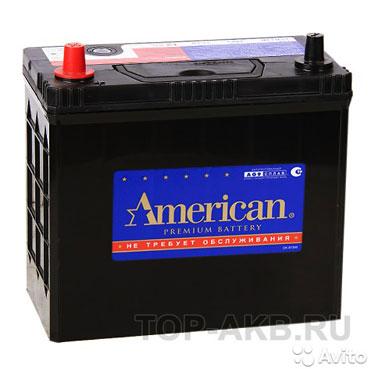 Аккумулятор American 65B24R (55L 480A 238x129x227)