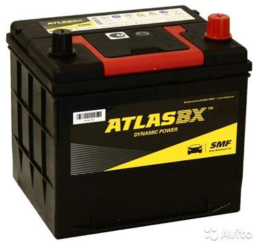 Аккумулятор Аtlas dynamic 60 А/ч 550 А MF26R-550