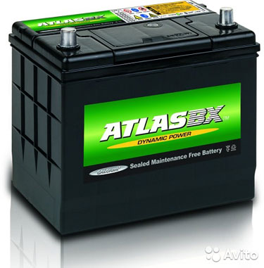 Аккумулятор Аtlas dynamic MF25-550 60 А/ч 550 А