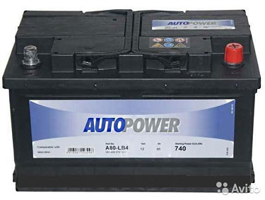 Аккумулятор Autopower 80 Ач
