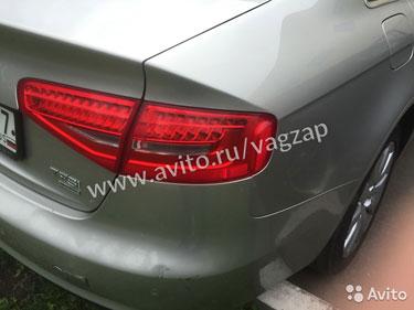 Audi A4 b8 Ауди а4 б8 фонари задние