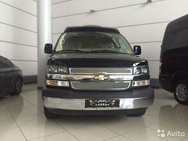 Белые Поворотники/габариты Chevrolet Express