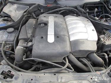 612.963, 2.7cdi, двигатель, мерседес ML 98-03