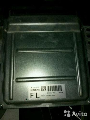 Блок управления двигателем мес86-450 Infiniti M