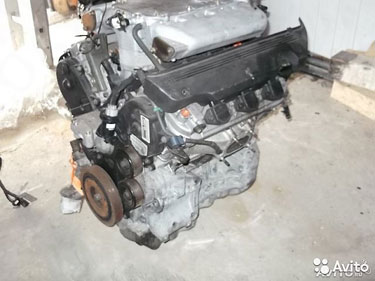 Бу Двигатель Acura MDX 3.5 J35A3