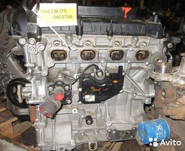 Бу Двигатель ford fiesta 1.6 hhjd