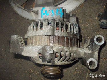 Ford fusion фьюжен гениратор 1.4-1.6