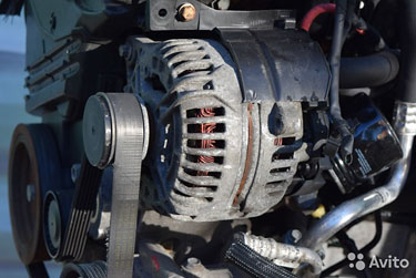 Генератор 0124525139 Renault Kangoo 1.5DCi
