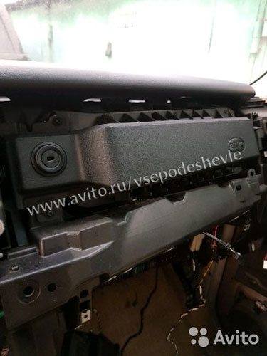 Airbag пассажиров разборка range rover vogue sport