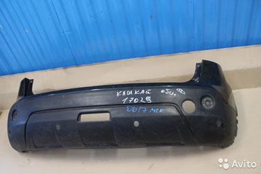 А.103783 Бампер задний для Nissan Qashqai (J10) (2