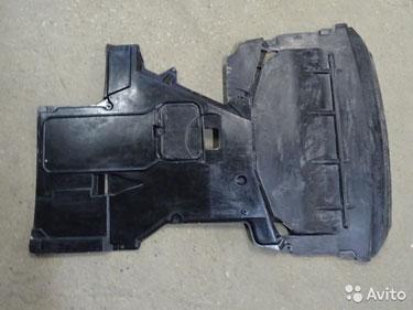 Бмв 5 Е39 защита двс комплект перед и зад