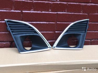 235235 Chevrolet cruze накладка под противотуманку