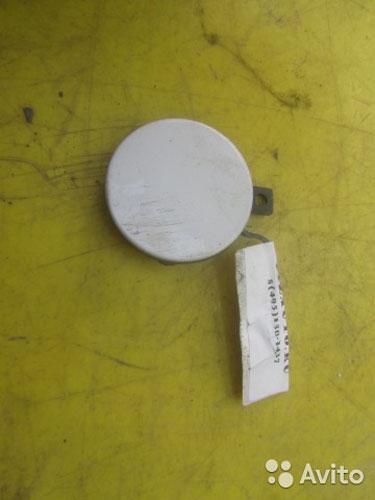 64022 заглушка буксировочного крюка бампера передн