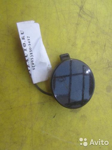 64045 Заглушка буксировочного крюка бампера задняя