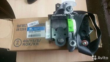 888203s400ry Hyundai sonata ремень безопасности