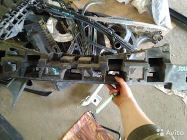 Абсорбер пер. бампера Hyundai solaris AST