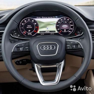 Аэрбег в руль и торпедо для Audi Q 7 2015