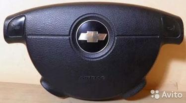 Аэрбег в руль и торпедо для Chevrolet Aveo/Lacetti
