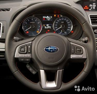 Аэрбег в руль и торпедо для Subaru Forester 4 рест