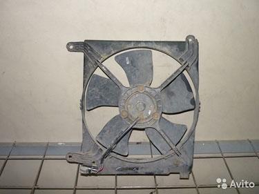 Chevrolet lanos Ланос дифузор радиаторов
