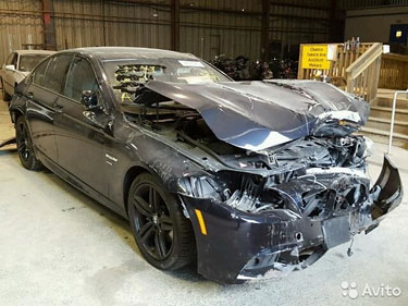 BMW F10 550XI 4.4l 2011 г. в. по запчастям